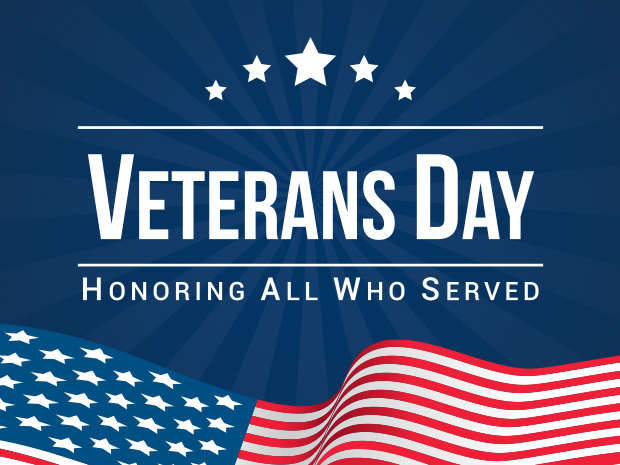 Veteran's Day Weekend - Veteran's and Active Military are FREE