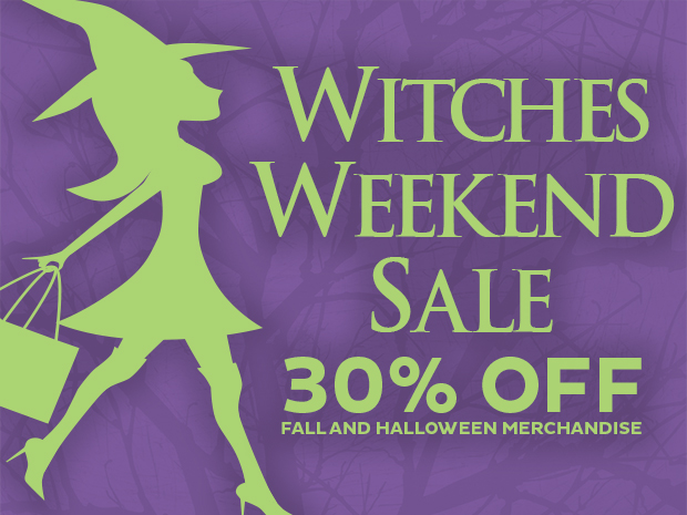 Witches Weekend Sale