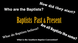 what do baptists believe
