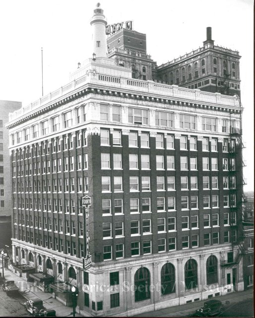 The Beacon Building in downtown Tulsa, Oklahoma.