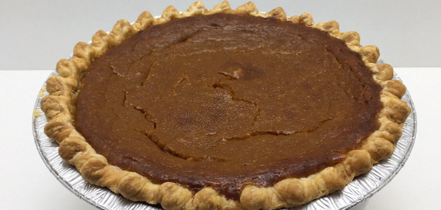 Bourbon Pumpkin Pie from Antoinette Baking Co. in Tulsa, Oklahoma is pictured as part of the Root 2020 Thanksgiving Takeout Guide.