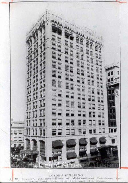 The Cosden Building in downtown Tulsa, Oklahoma.