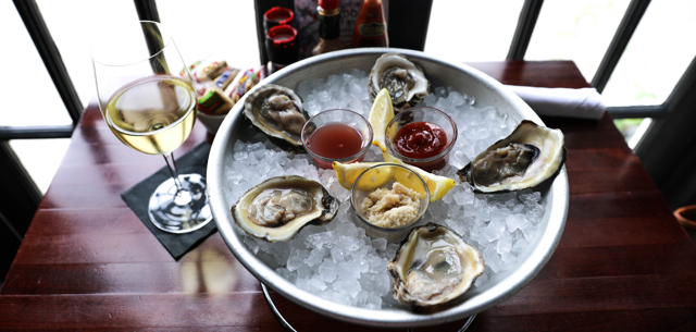 Oyster Happy Hour at Doc's Wine and Food on Brookside