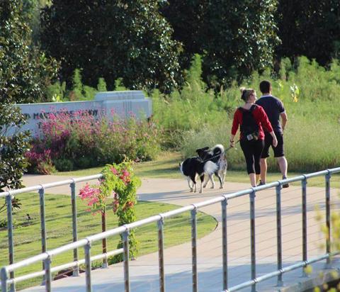 Dog Days is an event at the Tulsa Botanic Garden in Tulsa, Oklahoma.