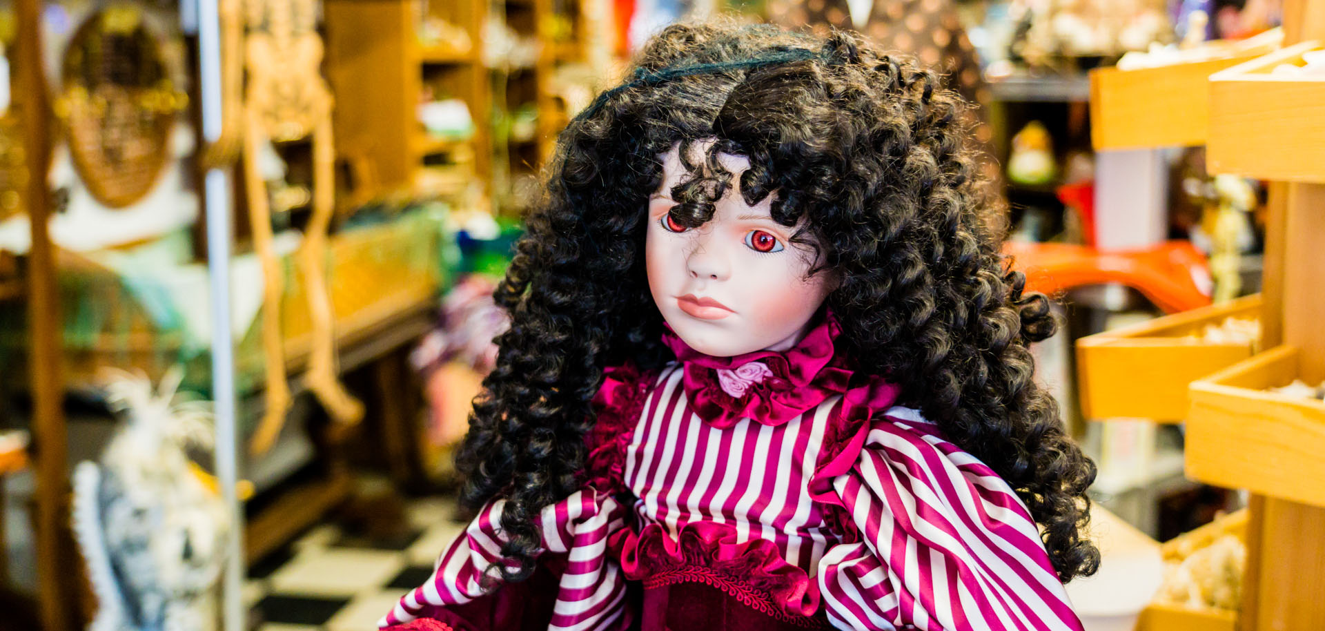 A doll sold at Good Mischief in Tulsa, Oklahoma.