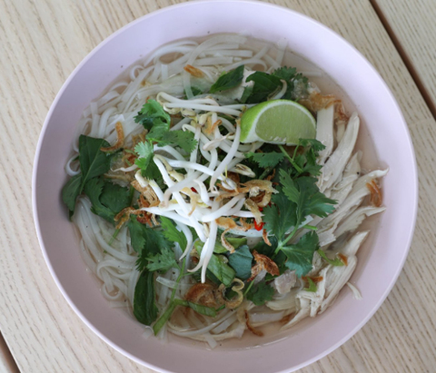Pho from Jackrabbit which will be popping up at American Solera in Tulsa's Pearl District.