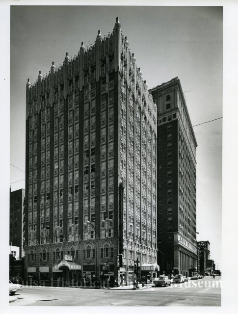 Mincks-Adams Hotel in downtown Tulsa, Oklahoma.
