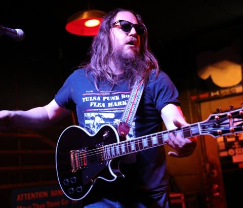 Paul Benjaman's playing his Sunday Night Thing at The Colony in Tulsa, Oklahoma.