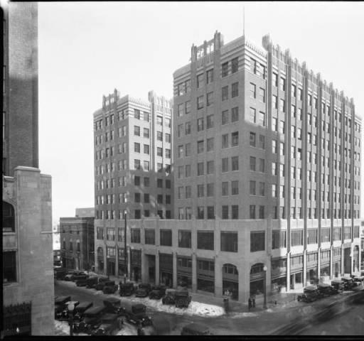The Philcade Building in downtown Tulsa, Oklahoma.
