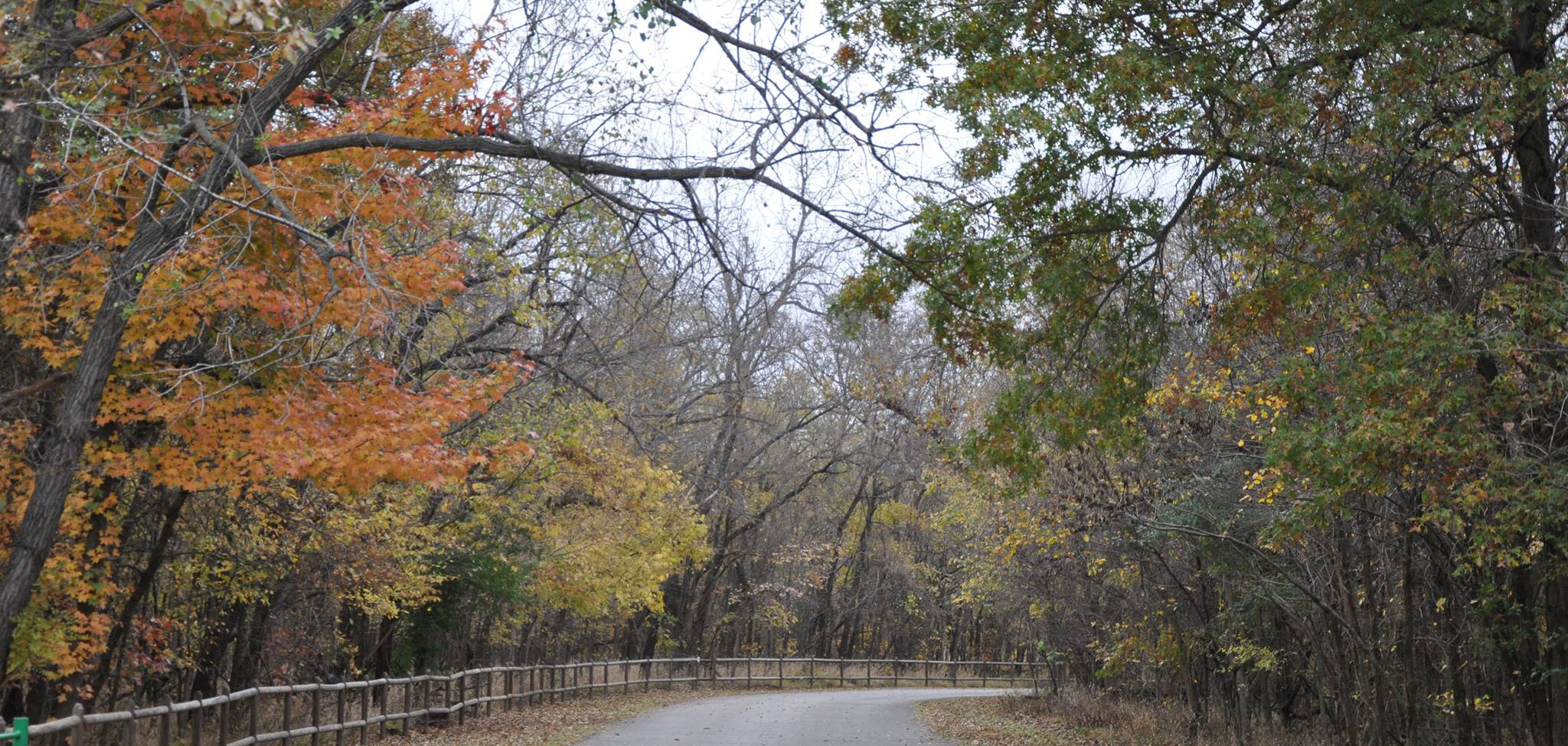 Redbud Valley Nature Preserve in Tulsa, Oklahoma.