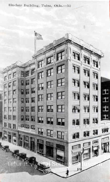 Sinclair Building in Tulsa, Oklahoma.