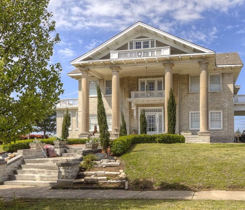 The Skyline Mansion is pictured. It's located in downtown Tulsa's The Heights neighborhood. It will host the event Skyline Mansion Market on Feb. 27.