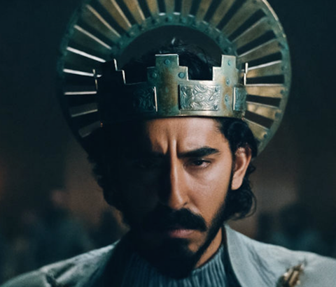Dev Patel as The Green Knight.