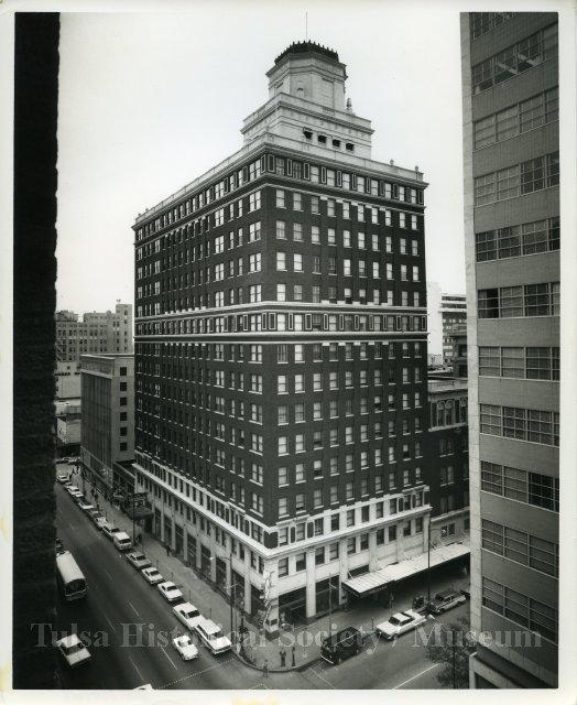 The Thompson Building in downtown Tulsa, Oklahoma.