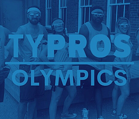TYPROS Olympics poster.