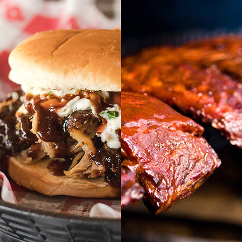 BBQ & BBQ Ribs Party Pack