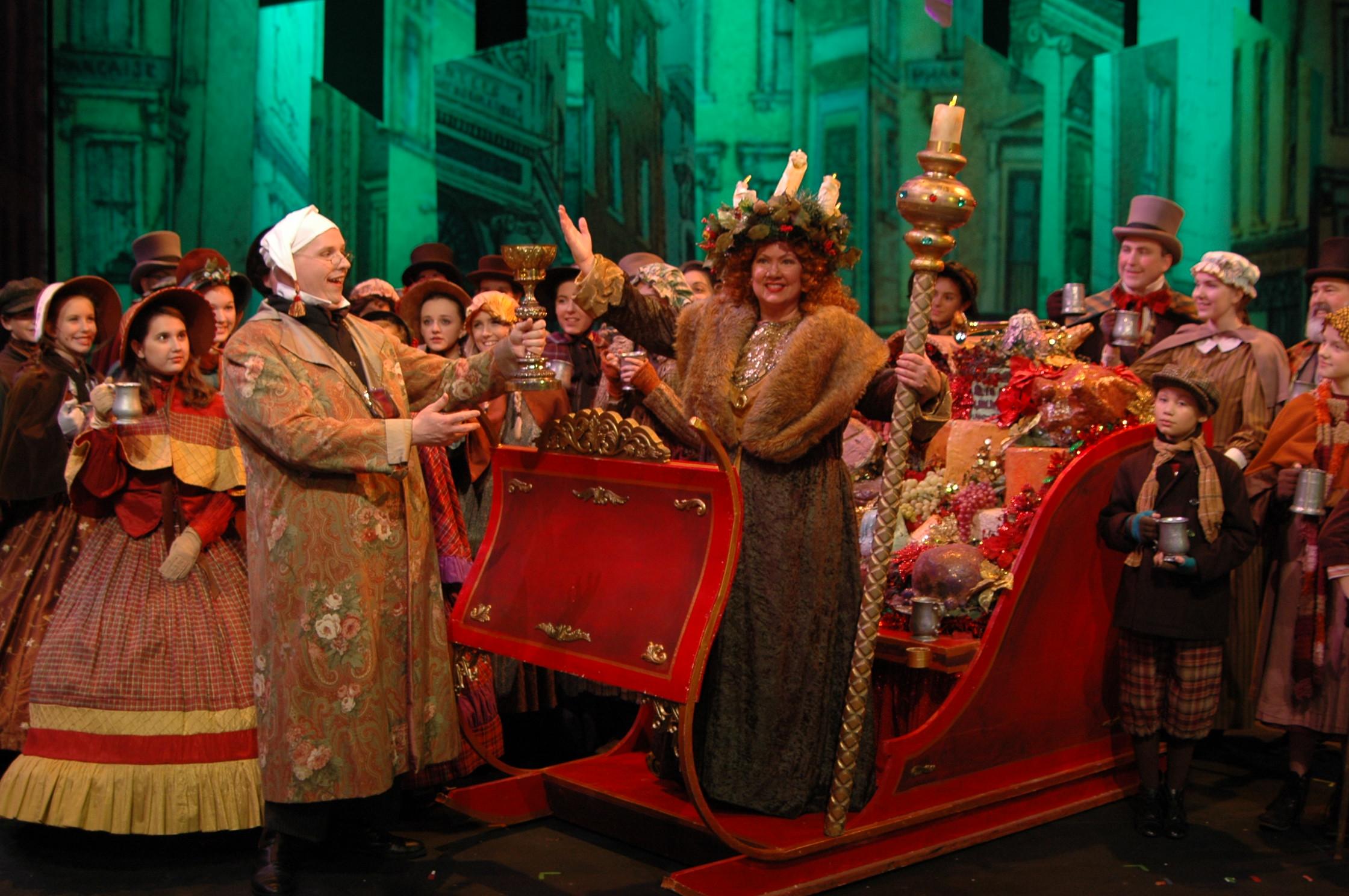 Theatre Memphis' <i>A Christmas Carol</i> image