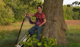 Harpist Nicolas Carter  image