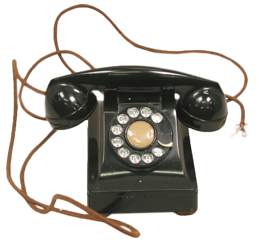 Telephone, 1960s, Tennessee State Museum Collection.