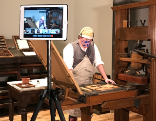 Virtual Field Trip - Frontier Print Shop