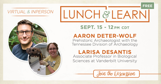 Lunch & Learn: The Nashville Saber-tooth
