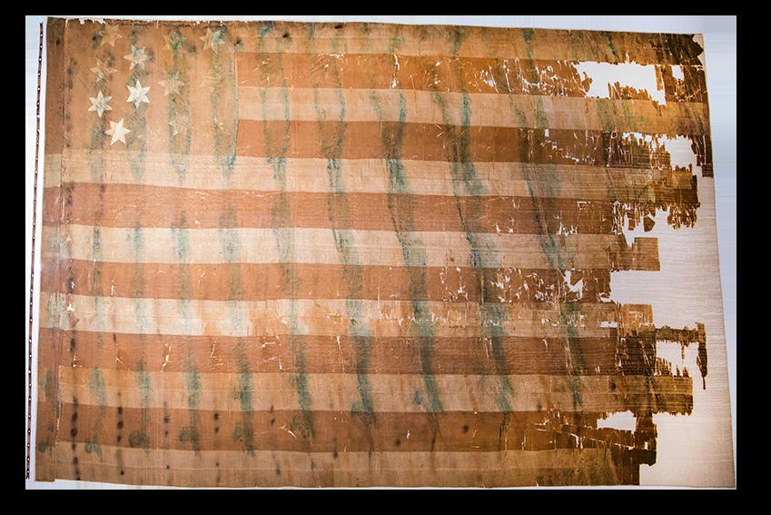 Thirteen-Star United States Flag, TSM Collection