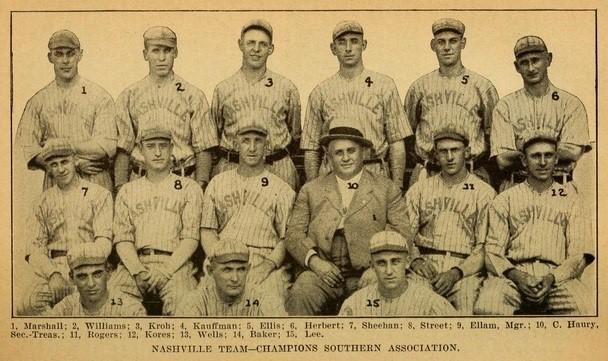 Nashville Vols 1916
