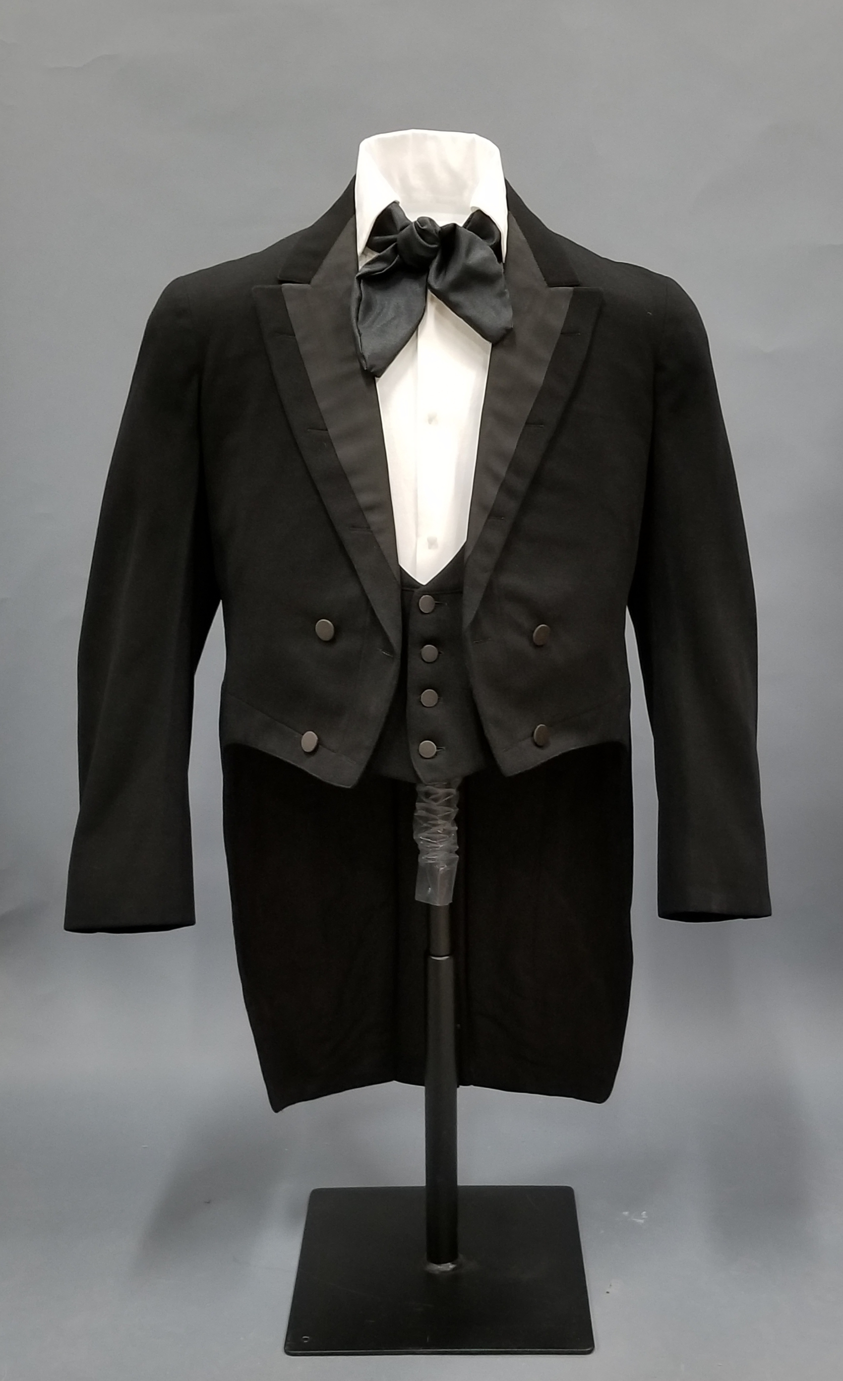 William Brownlow wore this coat and vest at his gubernatorial inauguration in 1865.