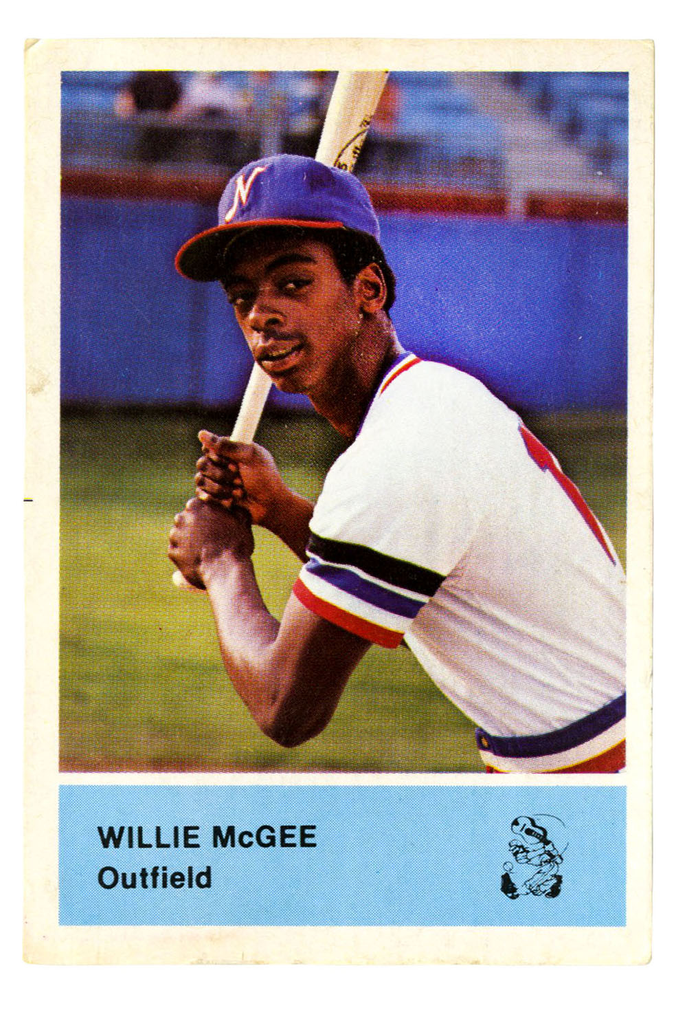 Willie McGee Nashville Sounds Trading Card