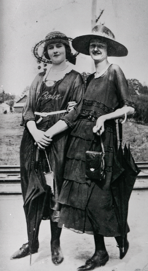 Two Washington County women during the summer of the ratification of the 19th Amendment, July 1920