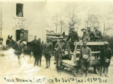 93rd Division soldiers in France