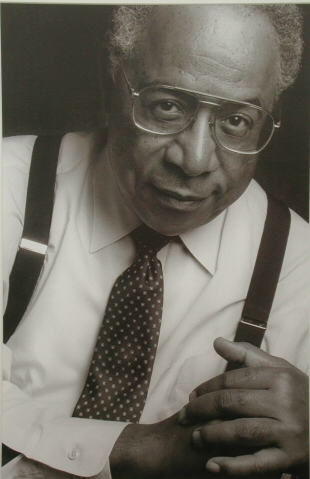 Alex Haley by Dennis Wile, 1986 (2006.32.5)