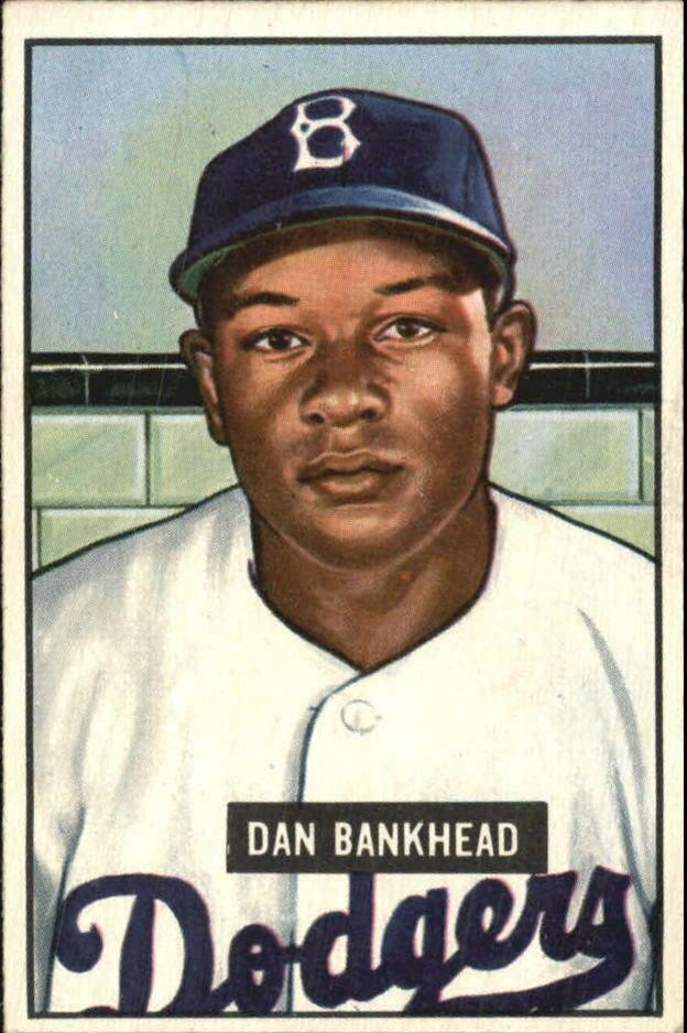 Dan Bankhead Baseball Card