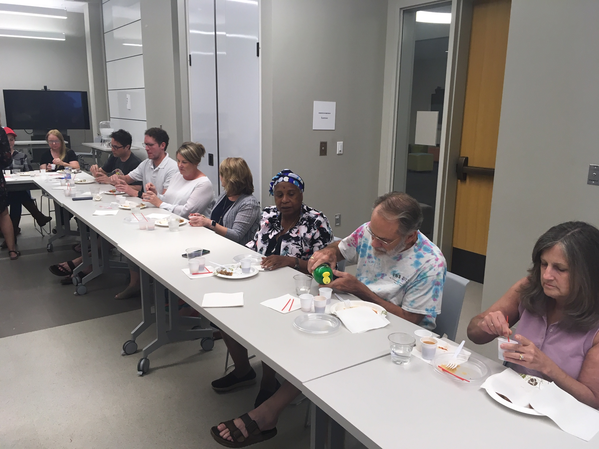 BBQ Sauce Tasting Workshop Participants