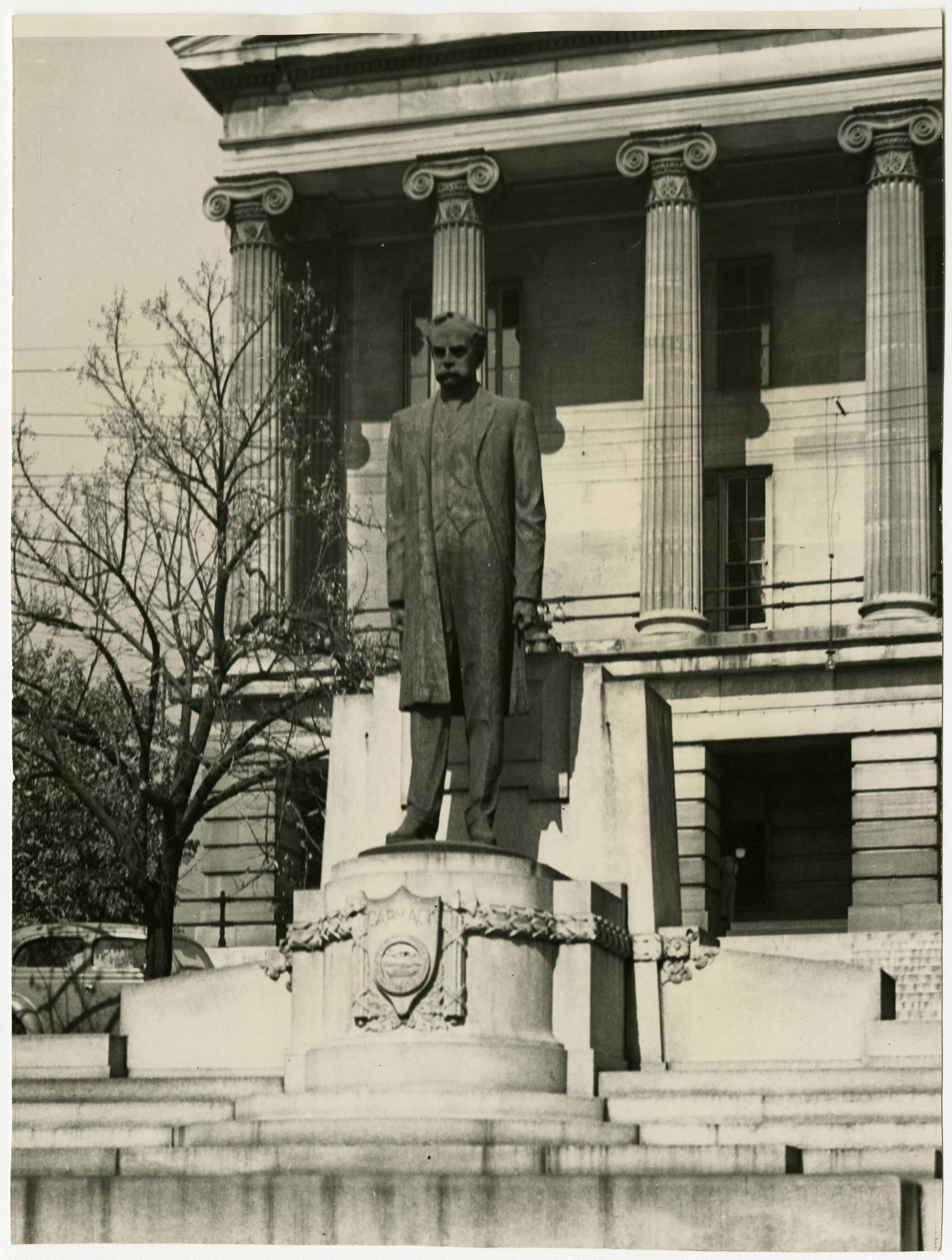 Edward Carmack Statue, Undated