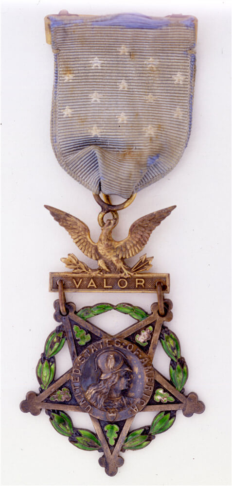 World War I hero Alvin C. York's Medal of Honor.