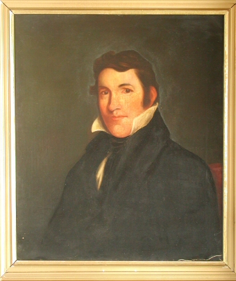 Portrait of David Crockett, Tennessee State Museum Collection.