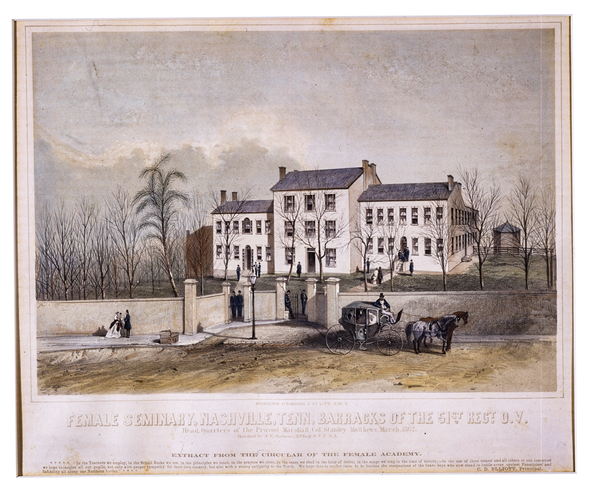Nashville Female Academy, Tennessee State MuseumCollection.