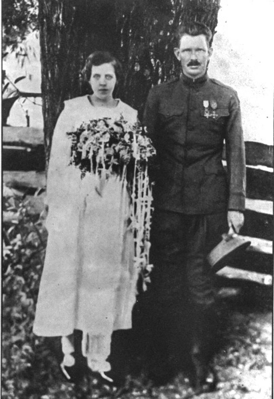 Photograph, Alvin C. York and Gracie Allen