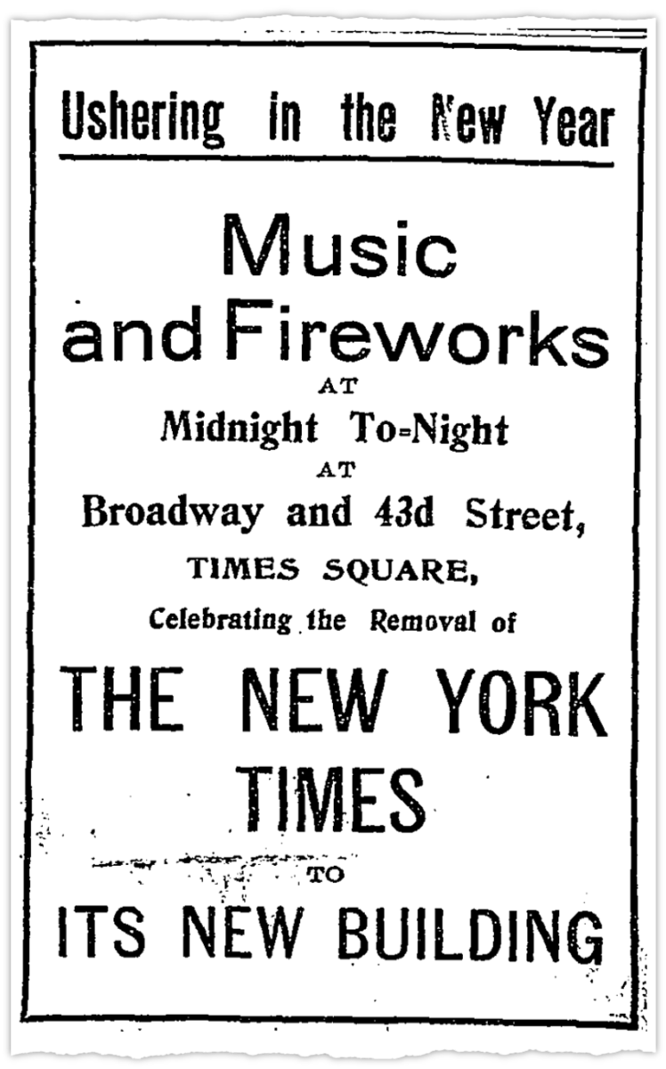 From The New York Times, December 31, 1904