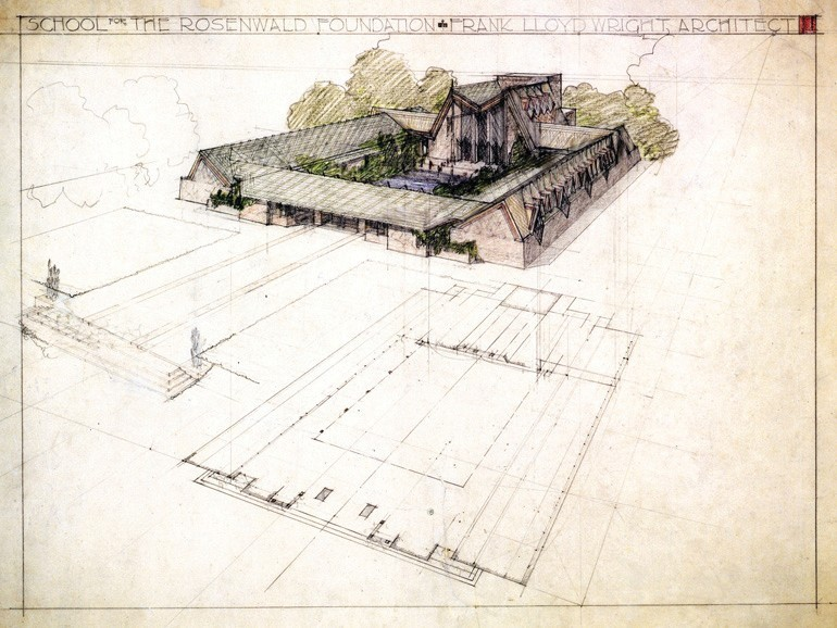 Frank Lloyd Wright Design 1928