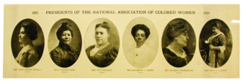 Presidents of the NACW, Tennessee State Museum Collection.