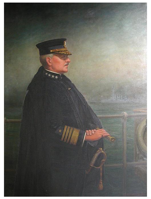 Admiral Albert Gleaves (1858-1937)