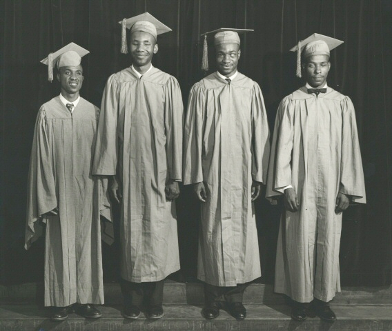 A Graduation Photo from the 1964 Tennessee A&I State University Yearbook,Tennessee State Museum Collection.