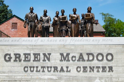 The Green McAdoo Cultural Center in Clinton is a museum dedicated to telling the story of the Clinton 12. Photo Courtesy of the Green McAdoo Cultural Center.