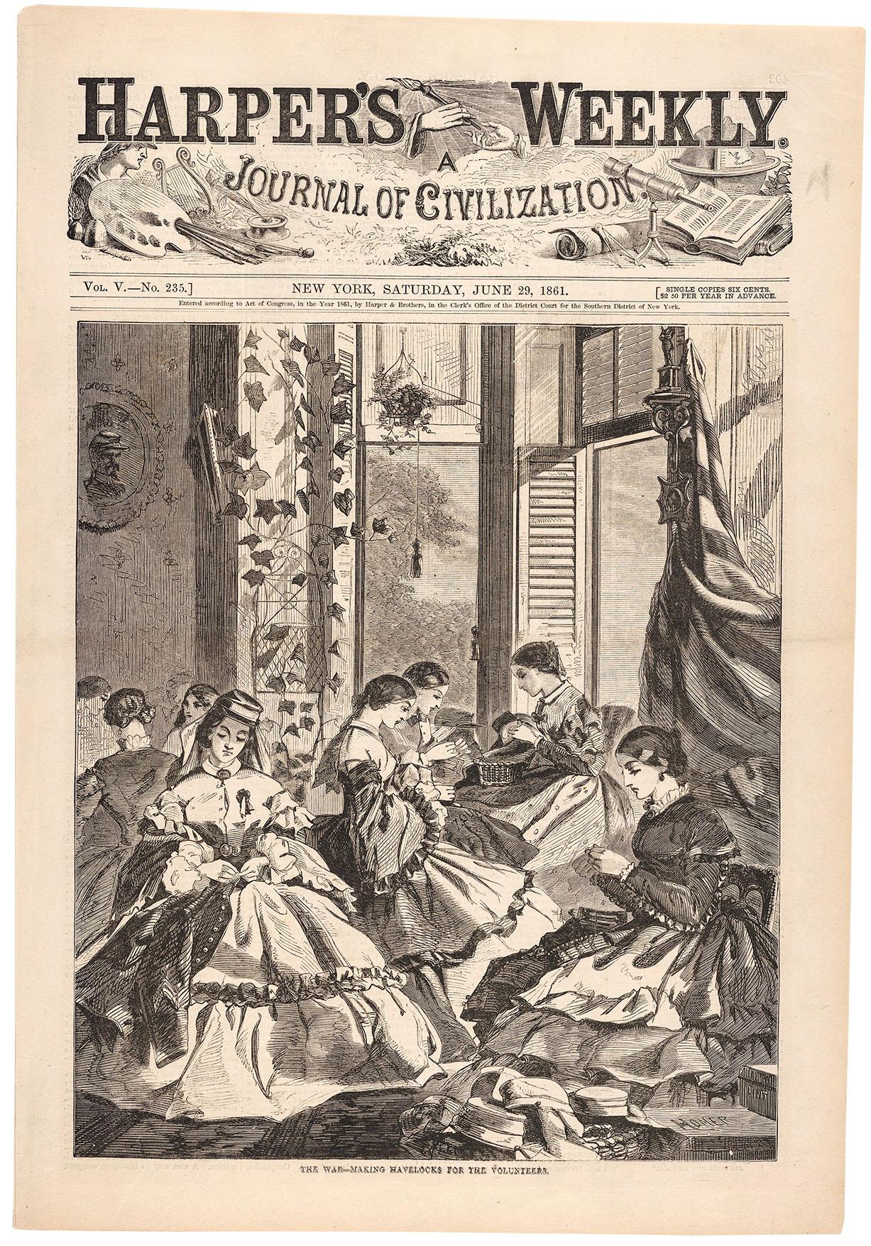 Harpers June 29 1861
