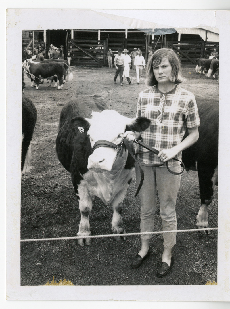 Pat Summitt and Horse