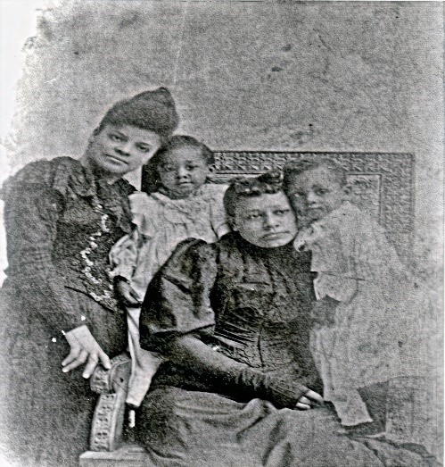 Ida B. Wells and the Moss Family (University of Chicago Library)