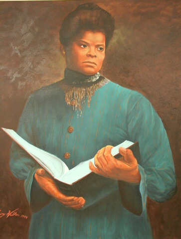Portrait of Ida B. Wells by Larry Walker, TSM 94.91