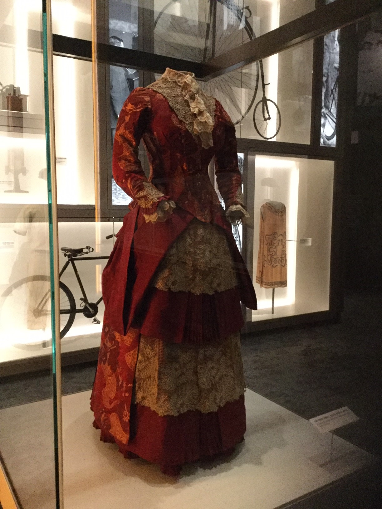 Two-Piece Dress, Nellie Dennis. 1880s